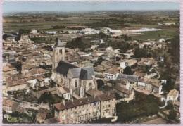 CPSM - CELLES S/ BELLE - VUE PANORAMIQUE AERIENNE - Edition Combier - Celles-sur-Belle