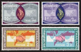 Thailand Stamp 1965 International Letter Writing Week - Thailand