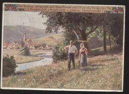"""Künstler-AK Nr. 905 Von Paul Hey - """"Die Sonne Erwacht Mit Ihrer Pracht"""", Gelaufen Am 4.5.1928 - Hey, Paul"""