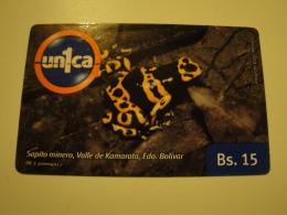 1 Remote Phonecard From Venezuela - Un1ca - Frog - Venezuela