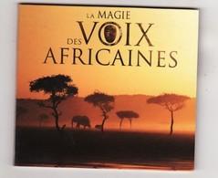 CD LA MAGIE DES VOIX AFRICAINES (port 110gr) Etat: TTB - Musiques Du Monde
