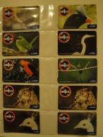 16 Remote Phonecards From Venezuela - Un1ca - Birds - Venezuela