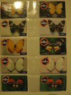 15 Remote Phonecards From Venezuela - Un1ca - Butterfly - Venezuela