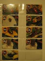 9 Remote Phonecards From Venezuela - Un1ca - Beetle - Venezuela