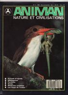 ANIMAN N° 17 1989 NATURE ET CIVILISATIONS (TTB état)0/90 - Animals