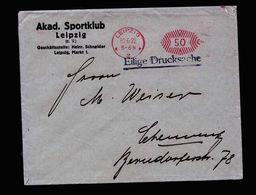 A5103) DR Infla Brief Leipzig 30.6.22 PFS 50 Abs. Sportklub - Deutschland