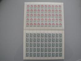 1958 Islande  Yv 281/2 X 50 ** Fleurs Flowers  Scott 309/10  Michel 323/4  SG 353/4 - Islande
