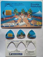 1998- Lot 3 Guitar Pick Vintage - French Telephone Card - BIBENDUM Michelin Man - MEDIATOR Onglet Pour Guitare - Musical Instruments