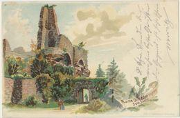 67) GIRBADEN - Ruines - Lithographie (précurseur Avant 1903) - 1900 - Other Municipalities