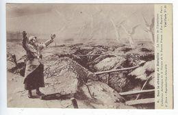 Guerre 1914 1918 Sur Le Champ De Bataille La Prière De L'Aumonier La Bonne Presse Patriotique Religieux - Guerre 1914-18