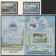 Cocos (Keeling) Islands - XX - Michel 123/124 + BL 3- Cote 5.50 - Ausipex 84 - Cocos (Keeling) Islands