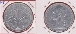 Somalis / KM 6 / 5 Francs 1948 / TB+ / RARE - Kolonies