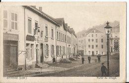 CPA -Ottange - Partie Du Village  - Partie Du Village - Francia