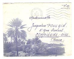 LETTRE FM FRANCHISE MILITAIRE AFN A.F.N. POSTE AUX ARMÉES 12 JANVIER 1958  - Leg. SZEBELÉDY S.P. 88 175 - Storia Postale