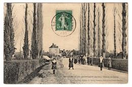 72 SARTHE - BERNAY EN CHAMPAGNE Entrée Du Bourg - Other Municipalities