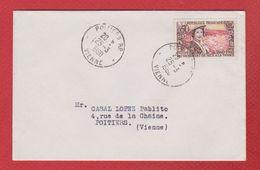 Env Pour Poitiers  - 25/3/1960 - 1921-1960: Modern Tijdperk