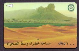 Saudi Arabia Telephone Card Used The Value 100SR ( Fixed Price ) - Saudi Arabia