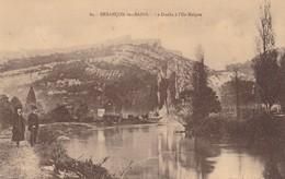 CPA 25, Doubs, Besançon, Le Doubs à L'île Malpas, Rare, Datée 1915, Animée - Besancon