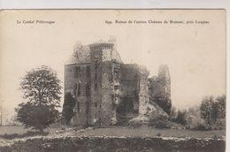 CPA-15-Cantal- Ruines De L'ancien Château De BRANZAC, Près Loupiac- - Autres Communes