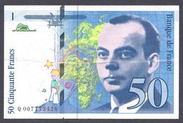 50 Francs St Exupéry 1993 - 1992-2000 Last Series