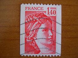 France Obl   N°  2104 - 1977-81 Sabine De Gandon