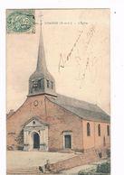 COMBREE  49  L' église Colorisée - France