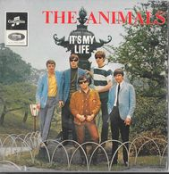 "The ANIMALS- ""It's My Life""  -Super 45 T (4 Titres)-Decca-BE - Disco, Pop"