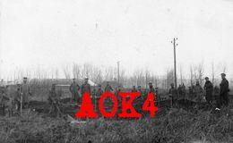 80 Somme DEVISE Armierungsbataillon 136 Nordfrankreich 1916 Tranchee Athies Monchy Lagache - France