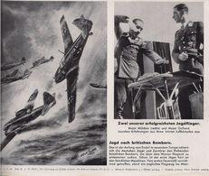 Aviation - Aviateurs Galland Et Mölders - Reproductions