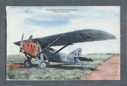 Compagnie Générale Aéropostale Avion Latécoére - Photo André - ATTENTION AU DOS DE LA CARTE !!! - Flugzeuge
