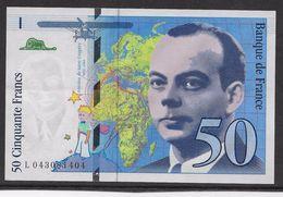 France 50 Francs Saint Exupery - Neuf - 1997 - Fayette 73-4 - 1992-2000 Last Series