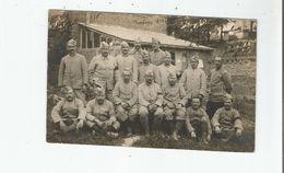 GUERRE 1914 1918 CARTE PHOTO AVEC MILITAIRES FRANCAIS DU 363 EME REGIMENT D'INFANTERIE EN JUILLET 1916 - Weltkrieg 1914-18