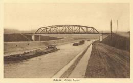Kanne (Riemst) / Canne, Albertkanaal, Canal Albert, Met Brug - Riemst