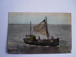 De Panne // Terug Van De Visvangst (kleur!) Gelopen 1962 - De Panne