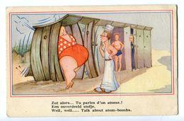 CPA - Carte Postale - Belgique - Comique - Plage - 1947 ( CP37) - Belgique