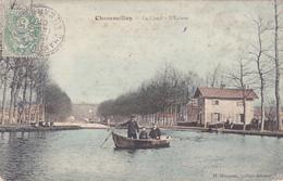 Chamouilley,le Canal, L écluse Couleur - Autres Communes