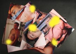 Erotic GAY Nude Sexy Lot 10 Colour Photos #lot3 S/H=4 E - Pin-up