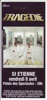 - Flyer - Tragedie - Palais Des Spectacles De St Etienne - - Music & Instruments
