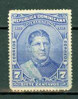 Rep. Dominicana   1933 Yv & T. 254*, MH (2 Scans) Tweede Keus / Second Choix - Dominicaine (République)