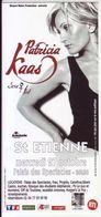 - Flyer - Patricia Kaas - Palais Des Spectacles De St Etienne - - Music & Instruments