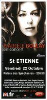 - Flyer - Isabelle Boulay - Palais Des Spectacles De St Etienne - - Music & Instruments