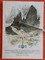 Koh I Noor - Crayon : Montagne - 1949 - Switzerland