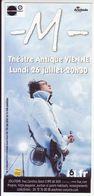 - Flyer - M - Théatre Antique De Vienne - - Musique & Instruments