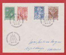 Env Tricentenaire Notre Dame  --  1966   -   Pliure Centrale - Briefe U. Dokumente