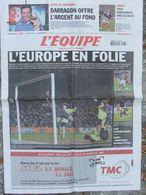 L'Equipe Du 23 Fév. 2006 - Darragon - Foot : L'Europe En Folie - Newspapers