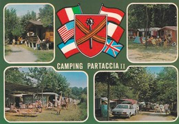 CARTOLINA - POSTCARD - MASSA - MARINA DI MASSA - CAMPING INTERNAZIONALE  PARTACCIA II - Massa