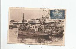 TANGER 120 LE PORT ET LA CASBAH (PETITES EMBARCATIONS) 1934 - Tanger