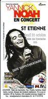 - Flyer - Yannick Noah - Palais Des Spectacles De St Etienne - - Music & Instruments