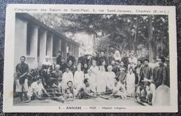 Indochine Hue Hopital Indigene Annam  Cpa - Vietnam