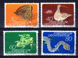1973; Faune; YT 538 - 541; Oblitéré, Lot 49544 - Gebruikt